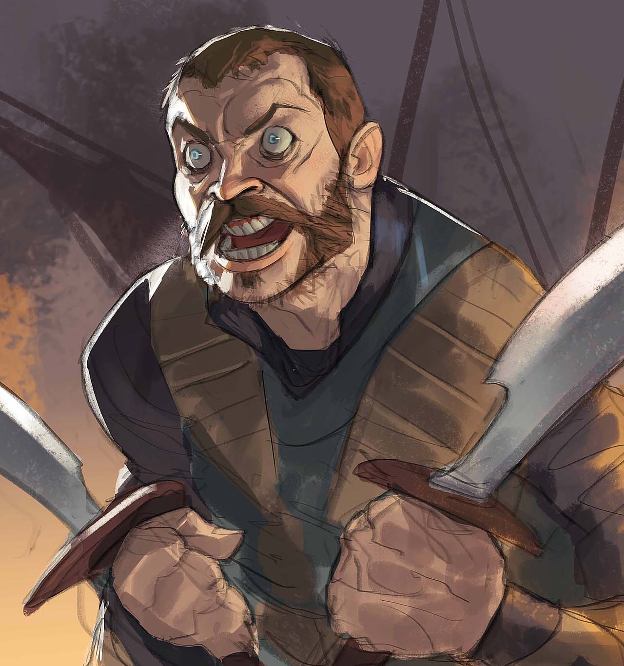 Artist Creates Unique Character Arts From Game Of Thrones – Euron Greyjoy Character Art By Ramón Nuñez