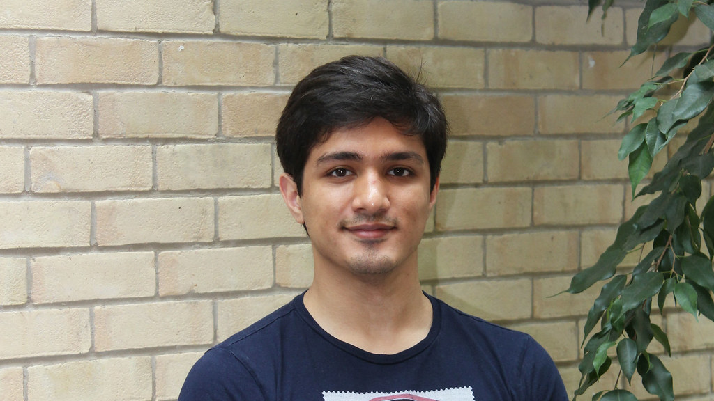 Mathematical Sciences student Anvarbek Atayev