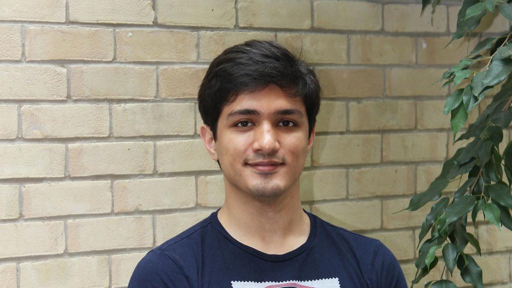 Mathematical Sciences student Anvarbek Atayev