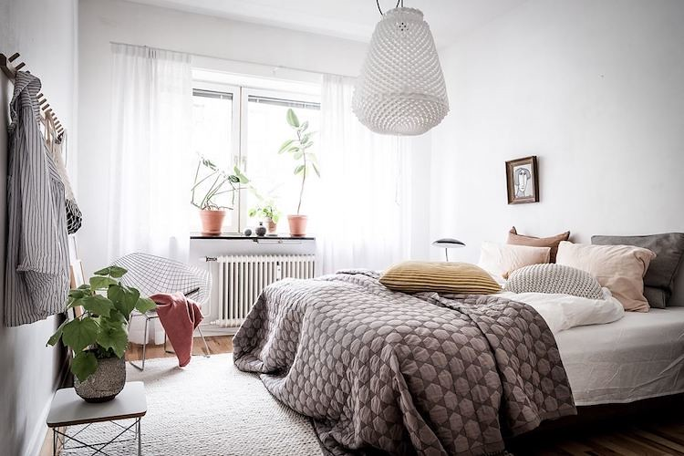 Bedroom scandinavian nordic