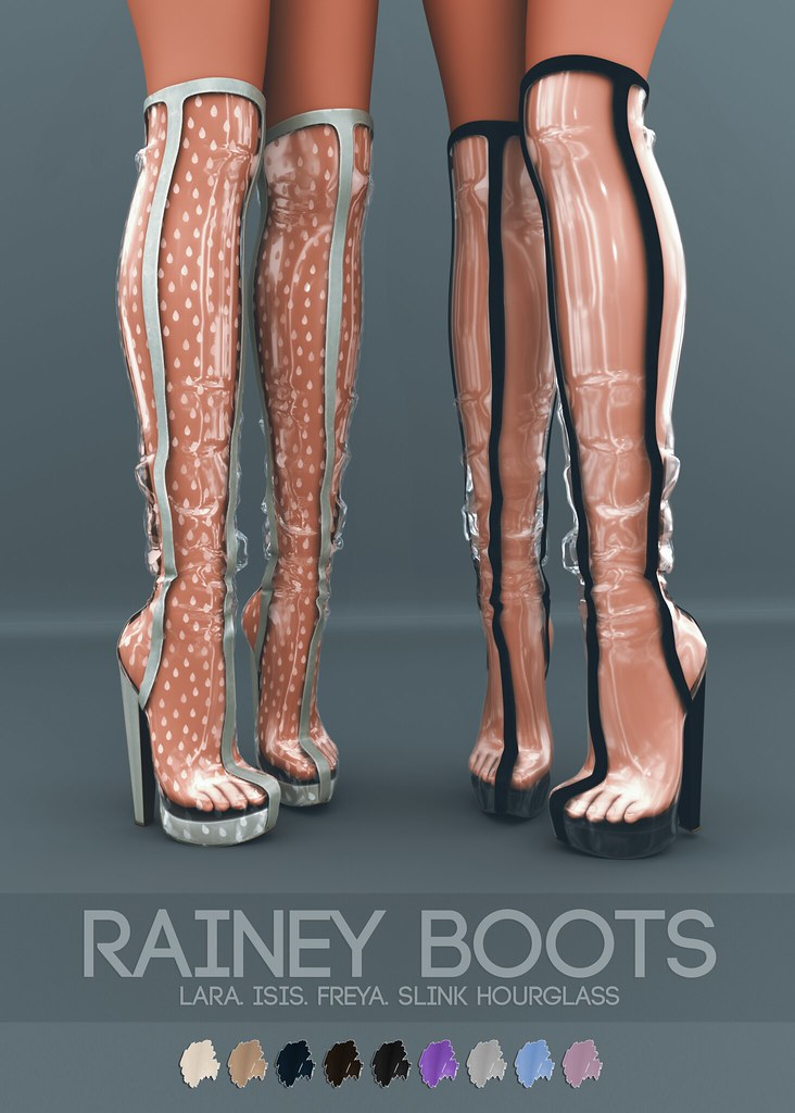 Pure Poison – Rainey Boots AD