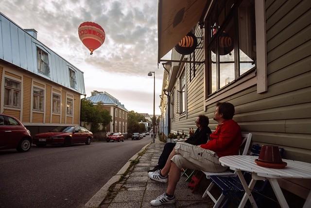 living in Helsinki