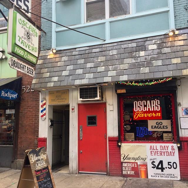 Oscar's Tavern Philadelphia PA Retro Roadmap