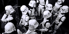 Soldiers of the Galactic Empire Take A Break