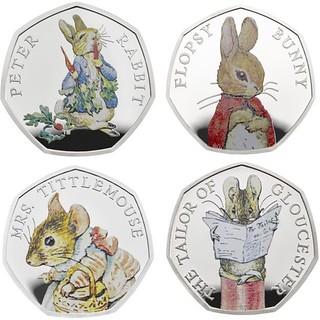 _2018 Beatrix Potter coins