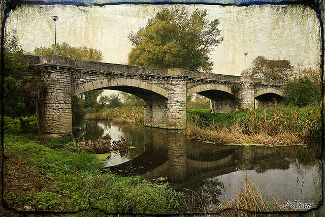 Puente en el Zadorra (Alava)