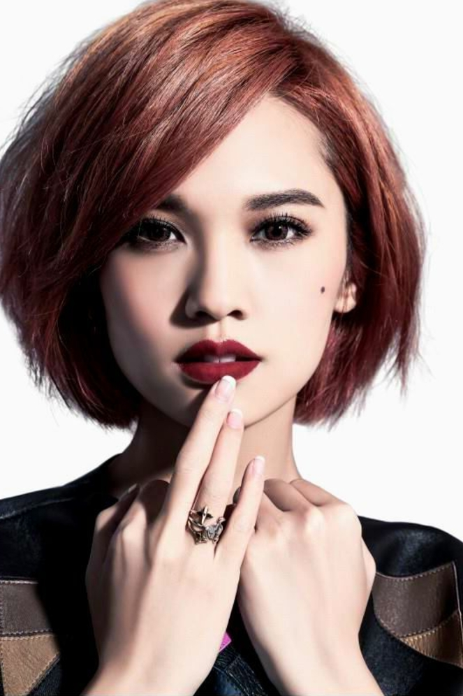 The Best Korean Hairstyles for Round Faces - Fashionre