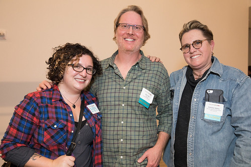 From L to R- Lissa Treman '07, Don Hall '95 and Kathleen Bailey '80