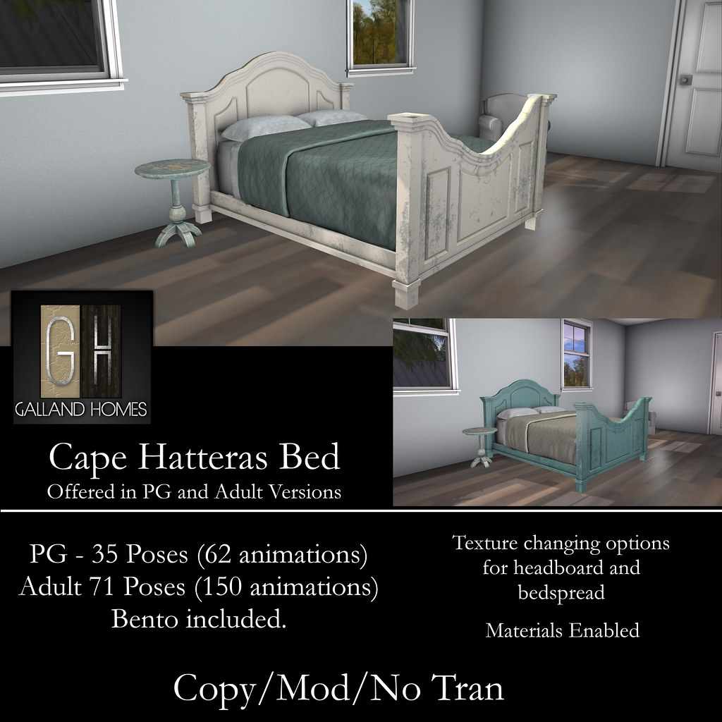 Cape Hatteras Bed by Galland Homes