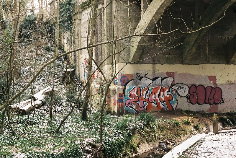 Bridge graff