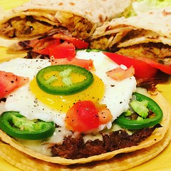 On a Tostada or Rolled in Lefse - Carnitas