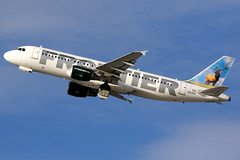 Frontier Airlines   Airbus A320-200   N213FR   Los Angeles International