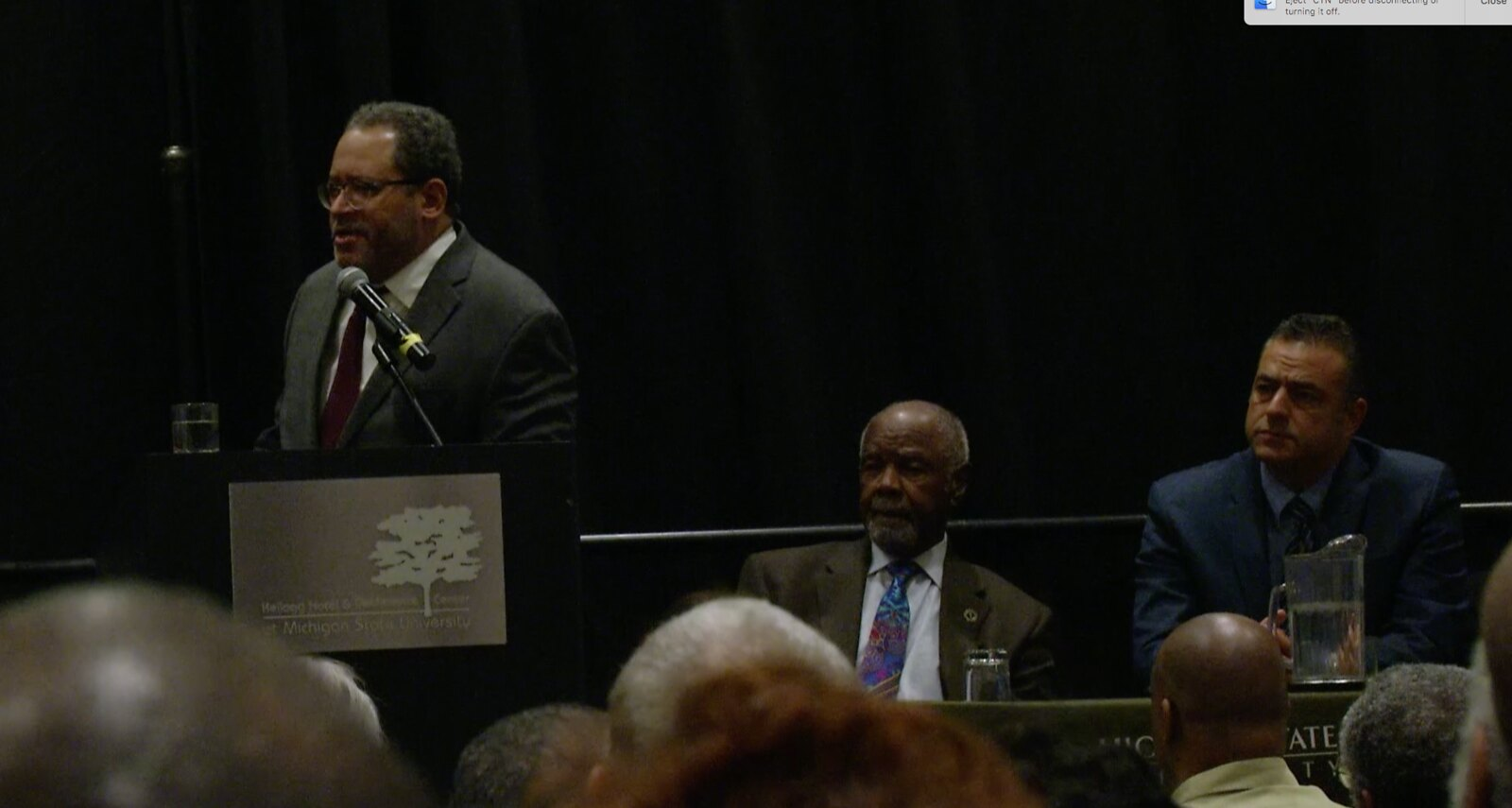 Dr. Michael Eric Dyson Gives Public Lecture For Black History Month