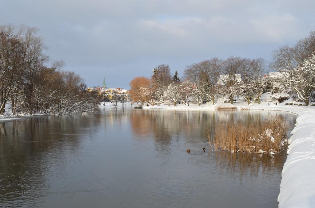 Stångån, Linköping