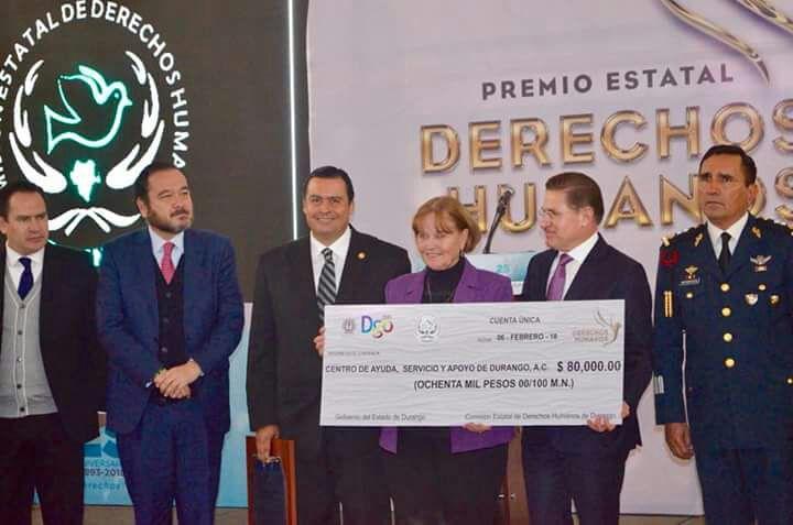 PÁG. 4 (2). En duda los criterios para otorgar el Premio Estatal de Derechos Humanos en Durango.