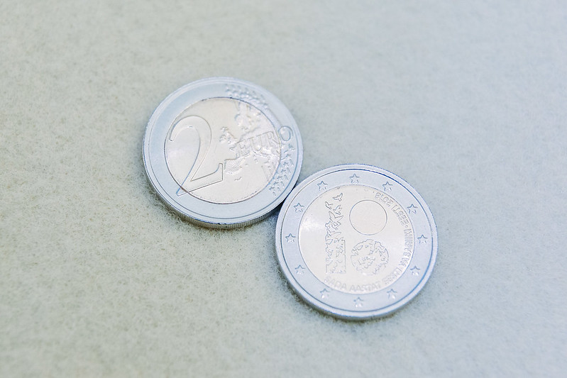 EV100 2€ mündi esitlemine 19.02