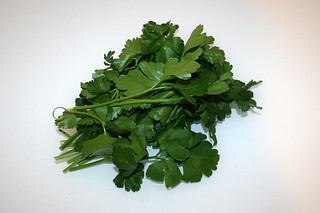 01 - Zutat Petersilie / Ingredient parsley