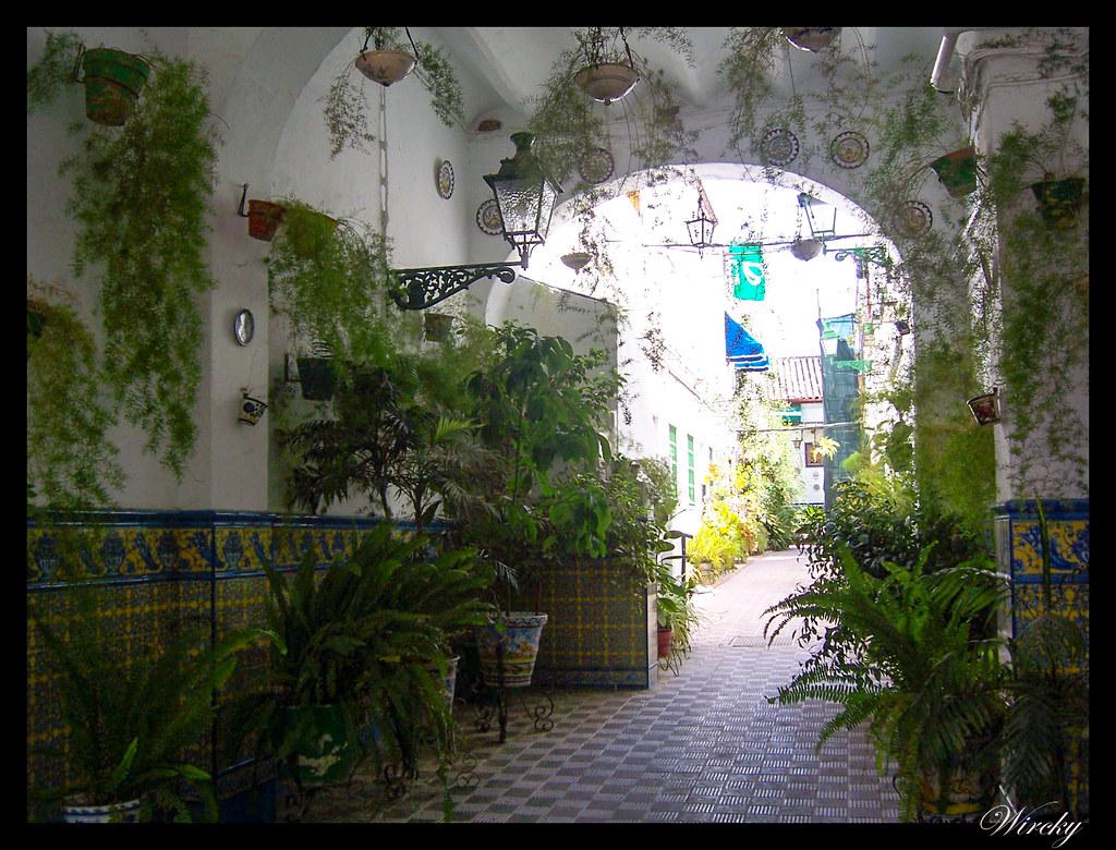 viajar Sevilla lugares imprescindibles - Patio típico del barrio de Triana