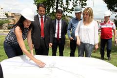 Visita do Ministro das Cidades às obras de Belo Horizonte