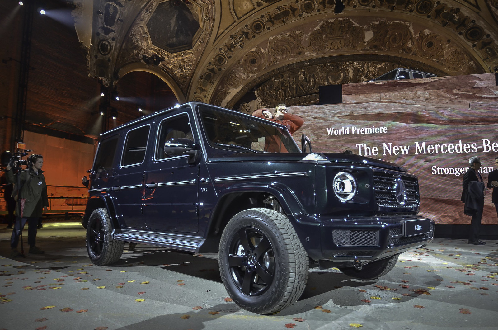 2019 Mercedes-Benz G-Class live photos: 2018 NAIAS