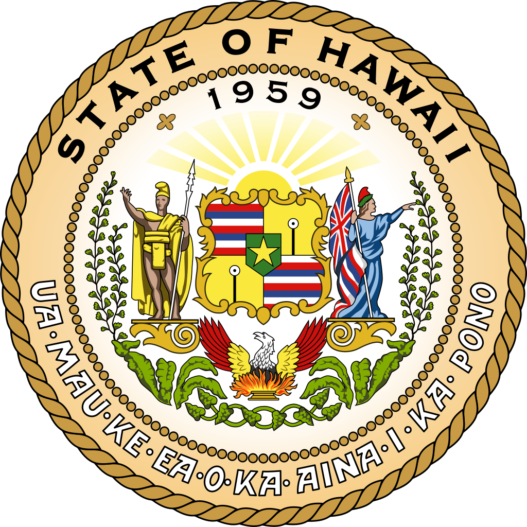 Seal of the State of Hawaii (1959-date)