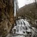 Cullasaja Falls in Winter