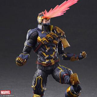 從眼睛噴出強大雷射超霸氣!!VARIANT PLAY ARTS改 Marvel Universe 變體版【獨眼龍】Cyclops