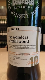 SMWS 10.143 - The wonders of refill wood