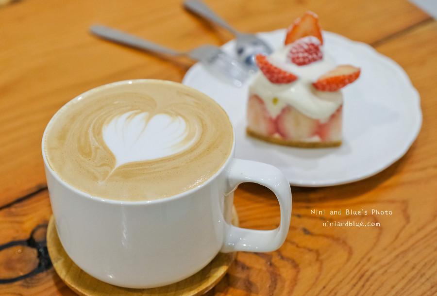 草屯咖啡草莓甜點 甜客思16