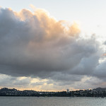 15. Jaanuar 2018 - 20:28 - clouds rolling ... rolling on the harbour