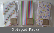 Notepad packs
