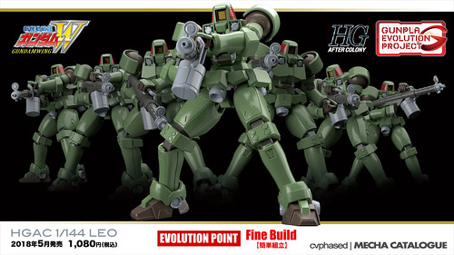 Gunpla Evolution Project - HGAC Leo