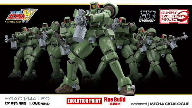 Gunpla Evolution Project - HGAC Leo
