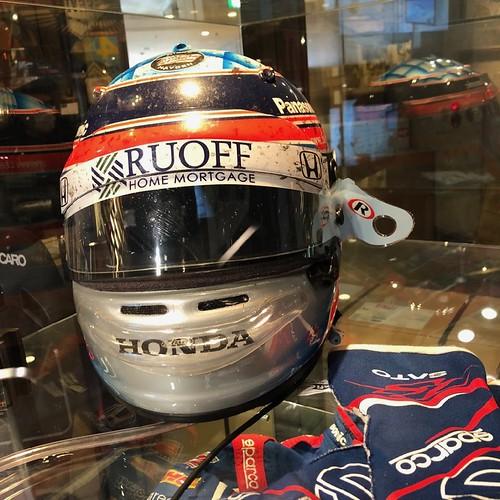 Takuma Sato Helmet 2017 Indy500