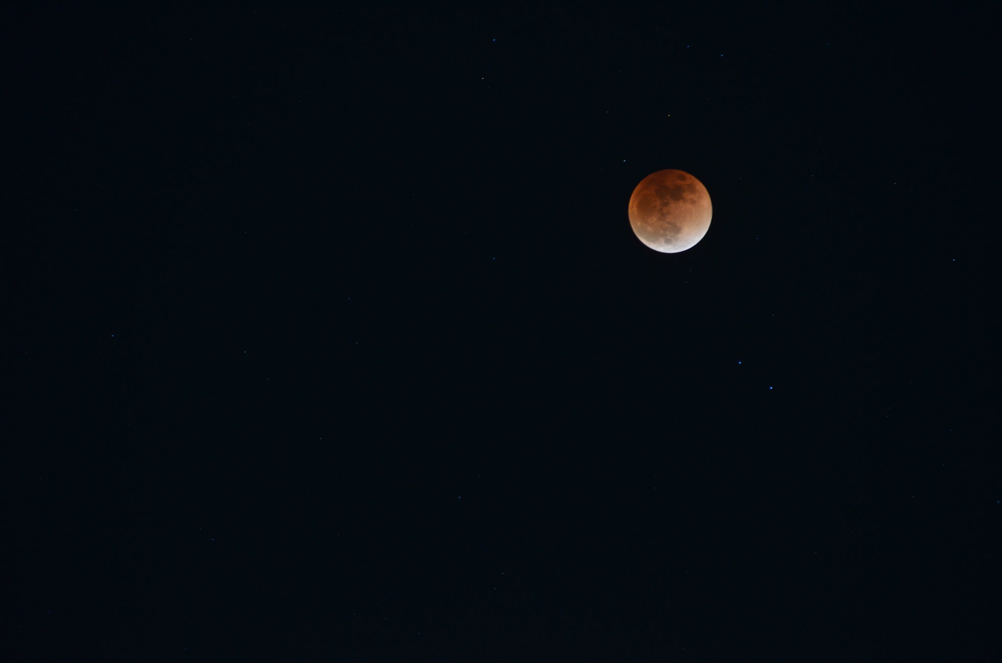 2018 Lunar Eclipse End