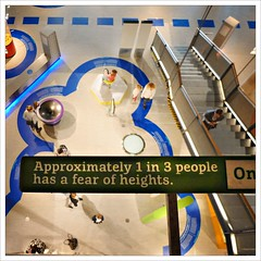 Approximately 1 in 3 people has a fear of heights
