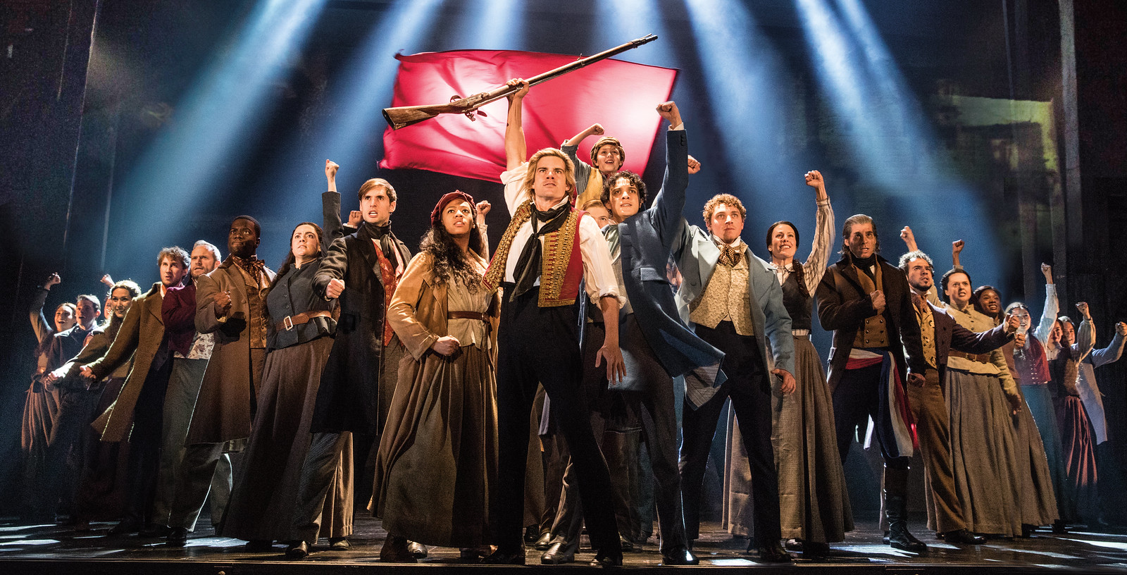 Broadway in Detroit: Les Miserables At The Fisher Theatre - Wading in Big Shoes