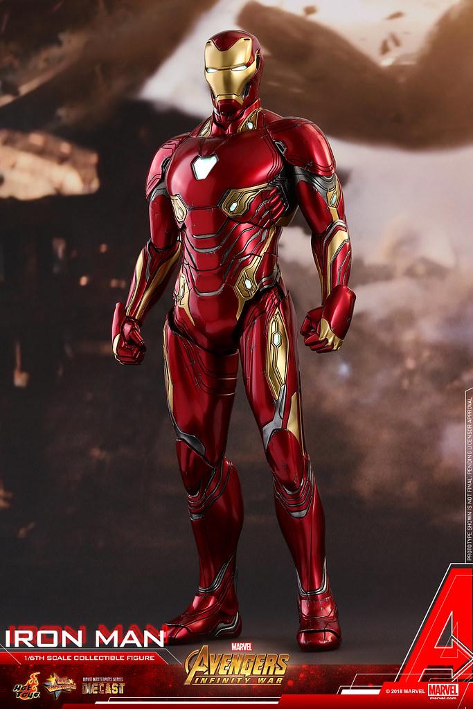 Hot Toys - MMS473D23 - 《復仇者聯盟:無限之戰》 1/6 比例 鋼鐵人馬克50 Avengers: Infinity War Iron Man Mark L