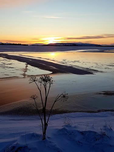 winter sunrise ice lake laugarvatn iceland jan2018 oeiriks
