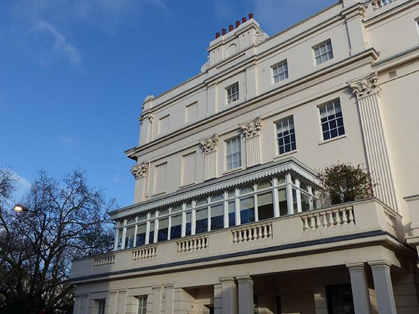belle maison de Londres