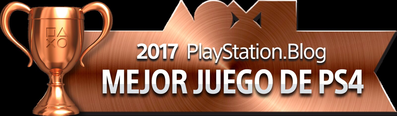PlayStation Blog Game of the Year 2017 - Best PS4 Game (Bronce)