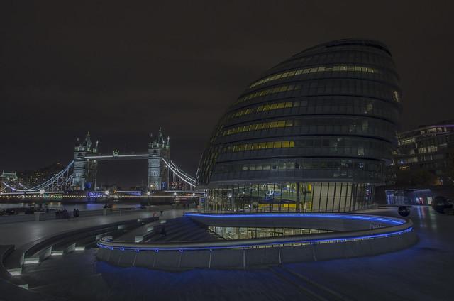 Tower Bridge - City, Canon EOS 700D, Canon EF-S 10-22mm f/3.5-4.5 USM