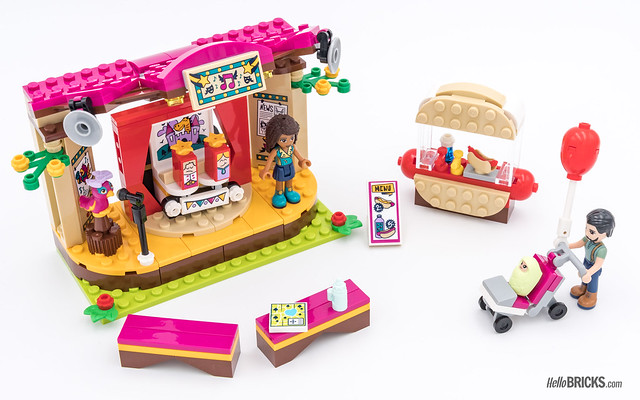 REVIEW LEGO Friends 2018 - LEGO 41334 Andrea's Park Performance