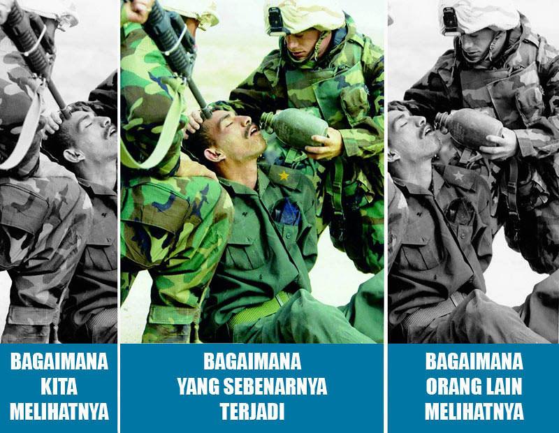 Era digital, foto-foto dapat digunakan untuk memanipulasi pikiran.