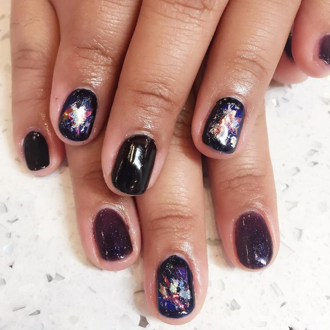 Fantastic Manicure Designs with Galaxy Nails
