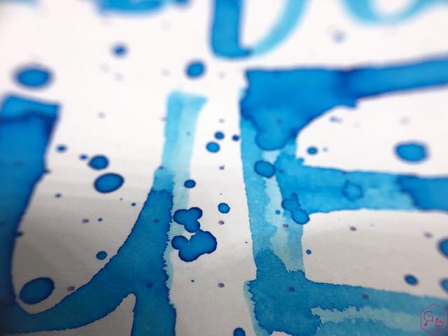 Ink Shot Review Monteverde Caribbean Blue @MonteverdePens @KnightsWritingC 12