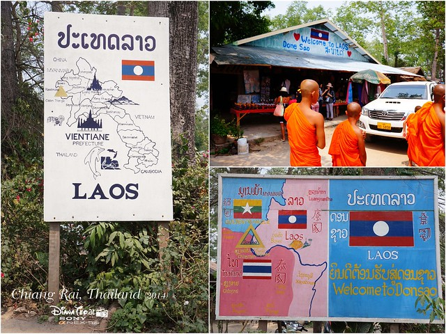 Thailand - Chiang Rai Golden Triangle Cross Border to Laos