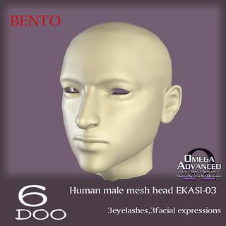 *6DOO* male bento head EKASI-03