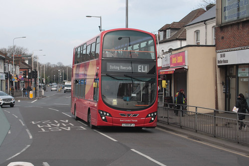 Go-Ahead London WVL348 LX59DFJ