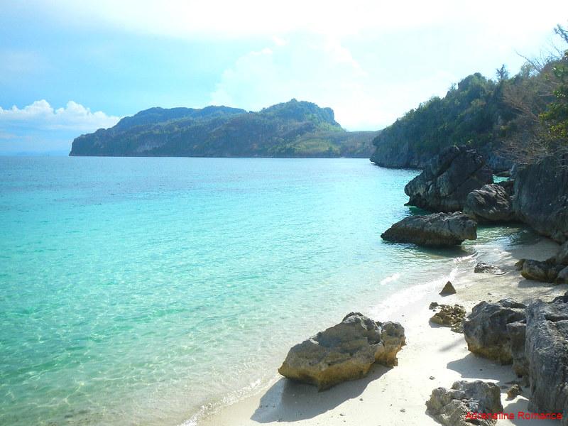 An Isolated Unnamed Beach